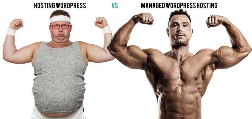 Hosting WordPress VS Managed WordPress Hosting