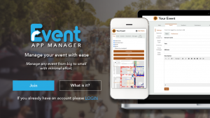 Event App Manager