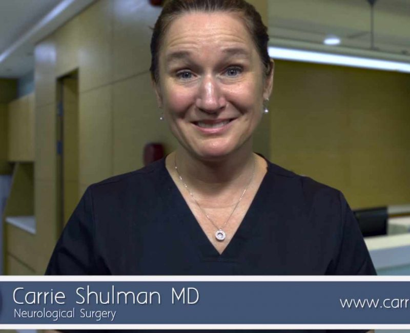 Carrie Shulman MD Introduction