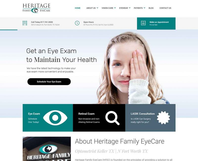 Heritage Family Eye Care